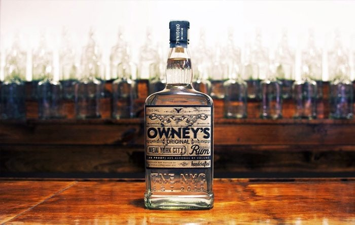 Owney's White Rum is the first product to come from this Brooklyn distillery, while the dark rum ages in barrels.
