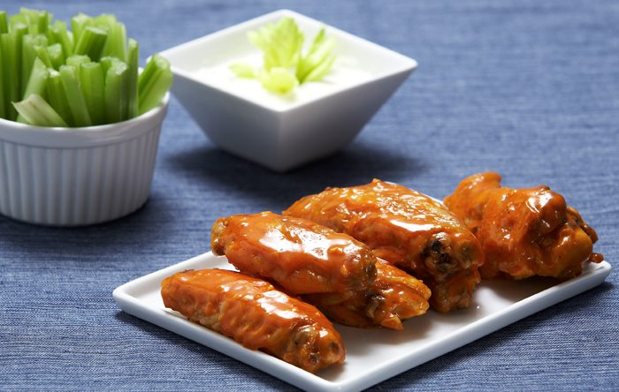 Ellie Krieger's Broiled Buffalo Chicken Wings