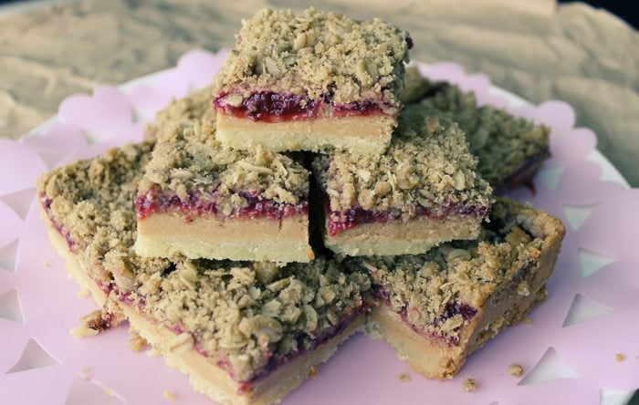 Peanut butter and jelly bar recipe s