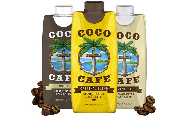 Coco Cafe coconut water coffee