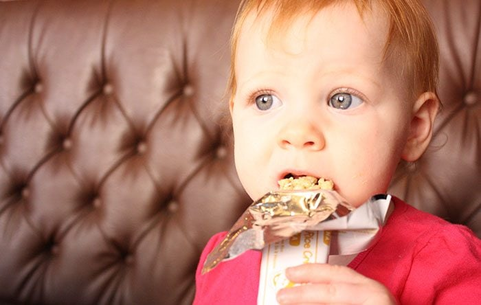 Granola bars could be behind digestive problems.