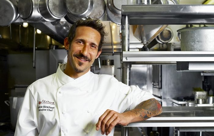 Interview with Chef Andrew Kirschner about sustainability.