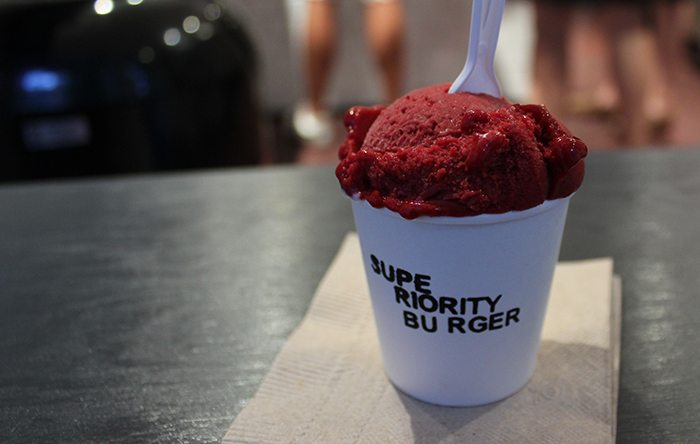 Superiority Burger's gelato
