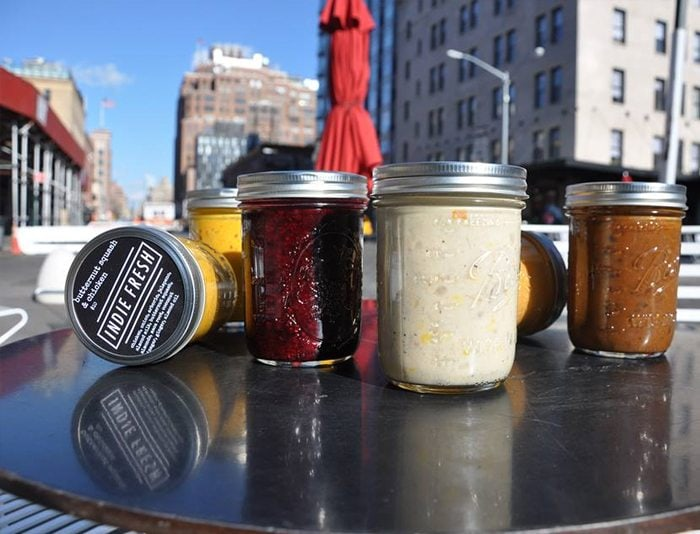 Indie Fresh's soups and smoothies