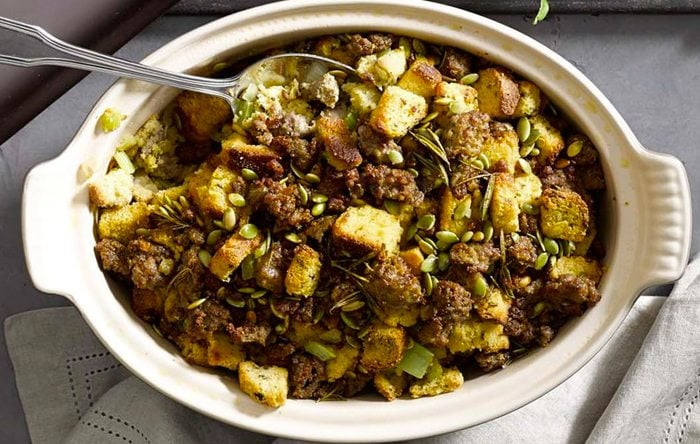 ... Stewart's Cornbread, Bacon, Leek and Pecan Stuffing | Clean Plates