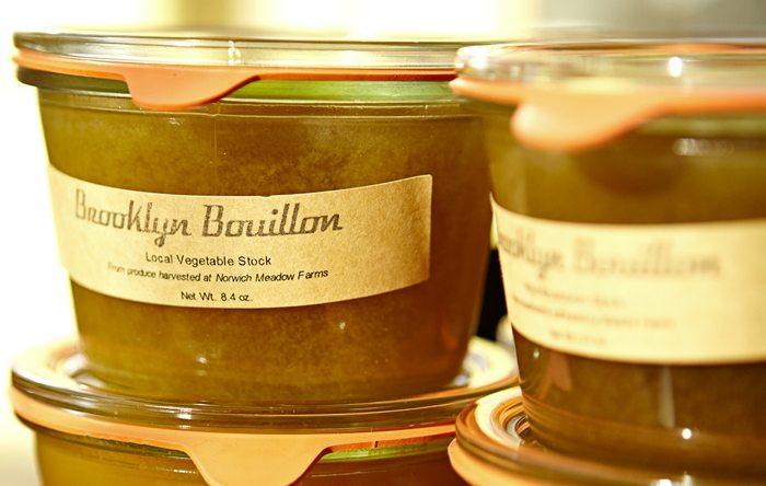 Brooklyn Bouillon stock sunchoke carrot soup