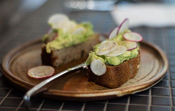 Lodge Bread's avocado toast