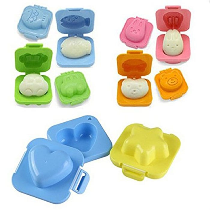 Egg and rice molds