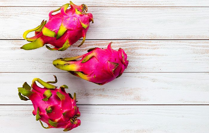 Dragonfruit, also known as pitaya