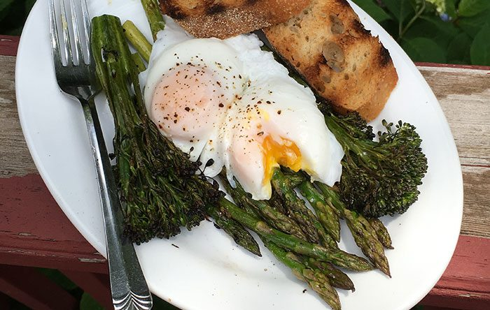 Grilled asparagus and broccolini recipe