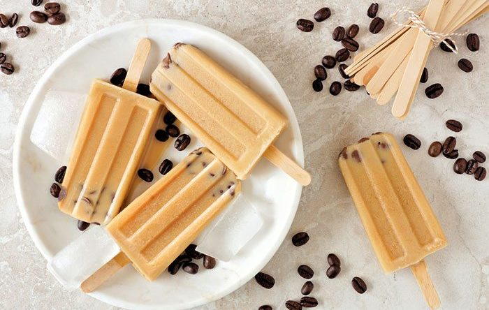 Cold brew popsicles