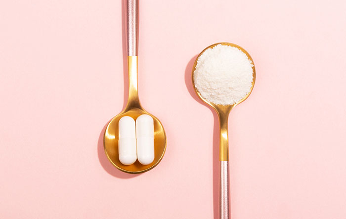 Collagen pills vs. powder