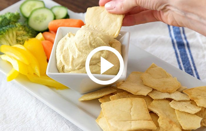 Make your own hummus video