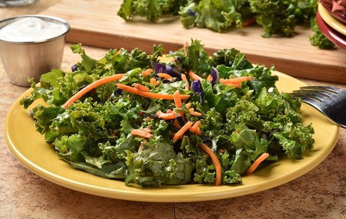Kale carrot salad