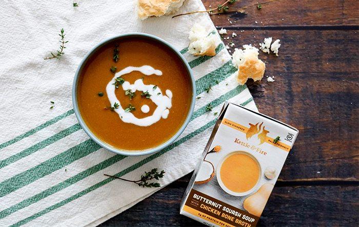 Kettle & Fire butternut squash soup