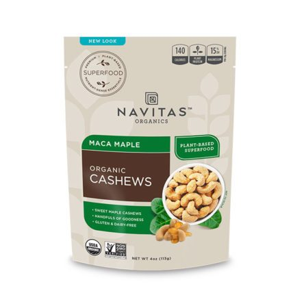 Navitas maca maple organic cashews