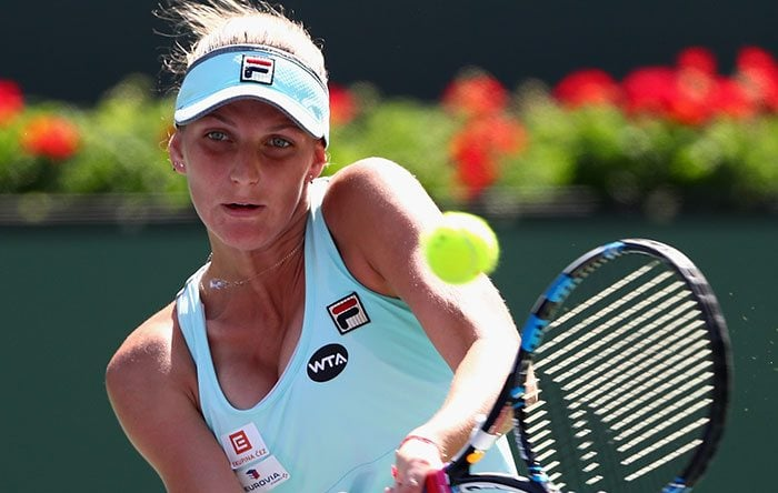 Karolina Pliskova Professional Tennis Player
