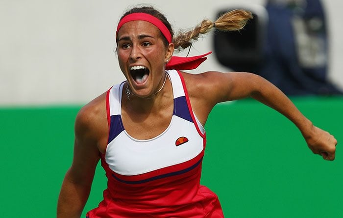 Monica Puig Tennis Player