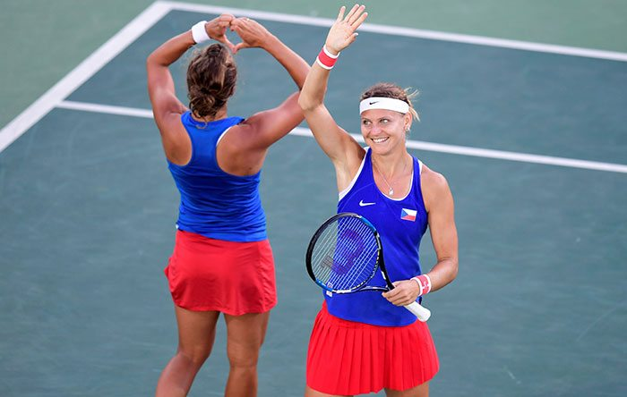 Lucie Safarova (CZE) - Roland Garros Finalist, 2x Grand Slam Doubles Champion, Olympic Bronze Medalist