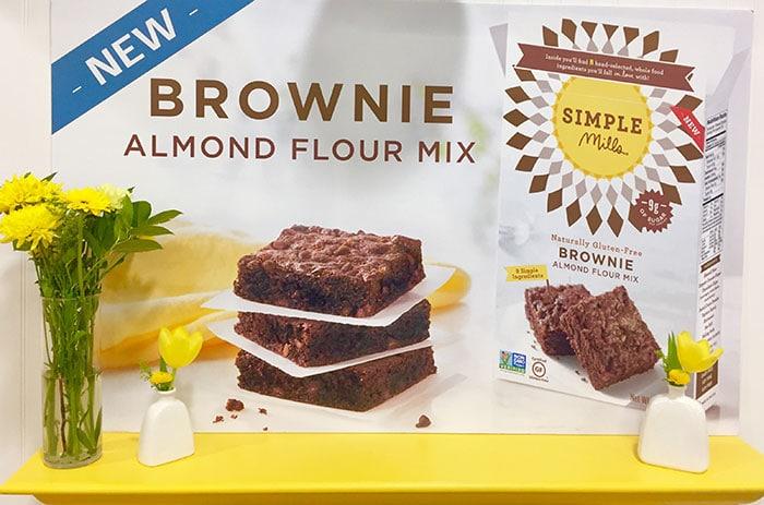 Simple Mills brownie mix