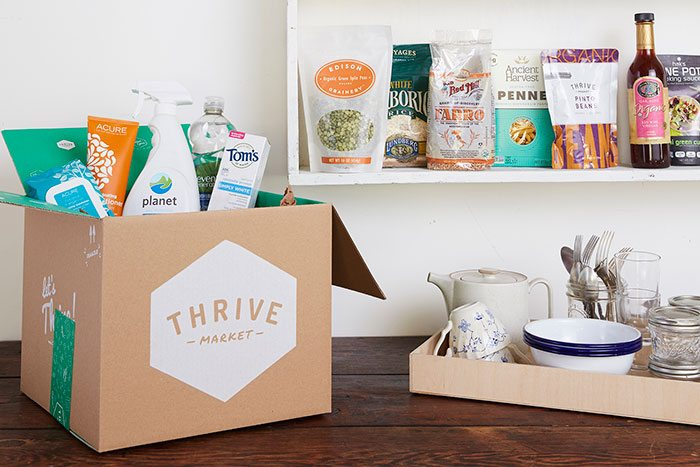 Thrive Market delivery box