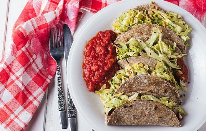 Veggie tacos recipe
