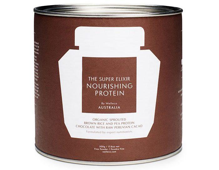 SUPER ELIXIR Nourishing Protein in chocolate