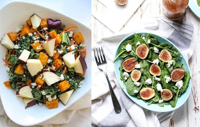 Winter salads from Instagram