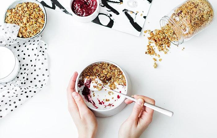 Low-sugar yogurts