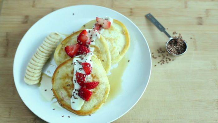 Homemade plain yogurt video