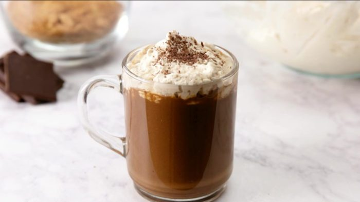 Spicy hot chocolate video