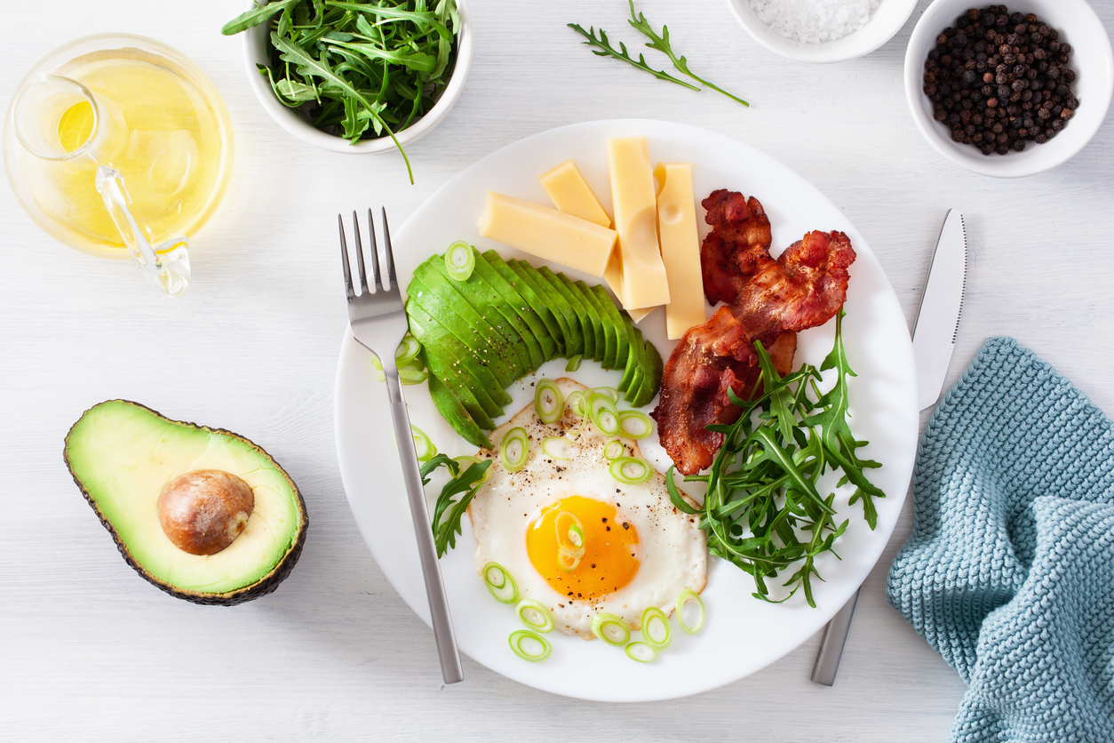 keto diet plate images