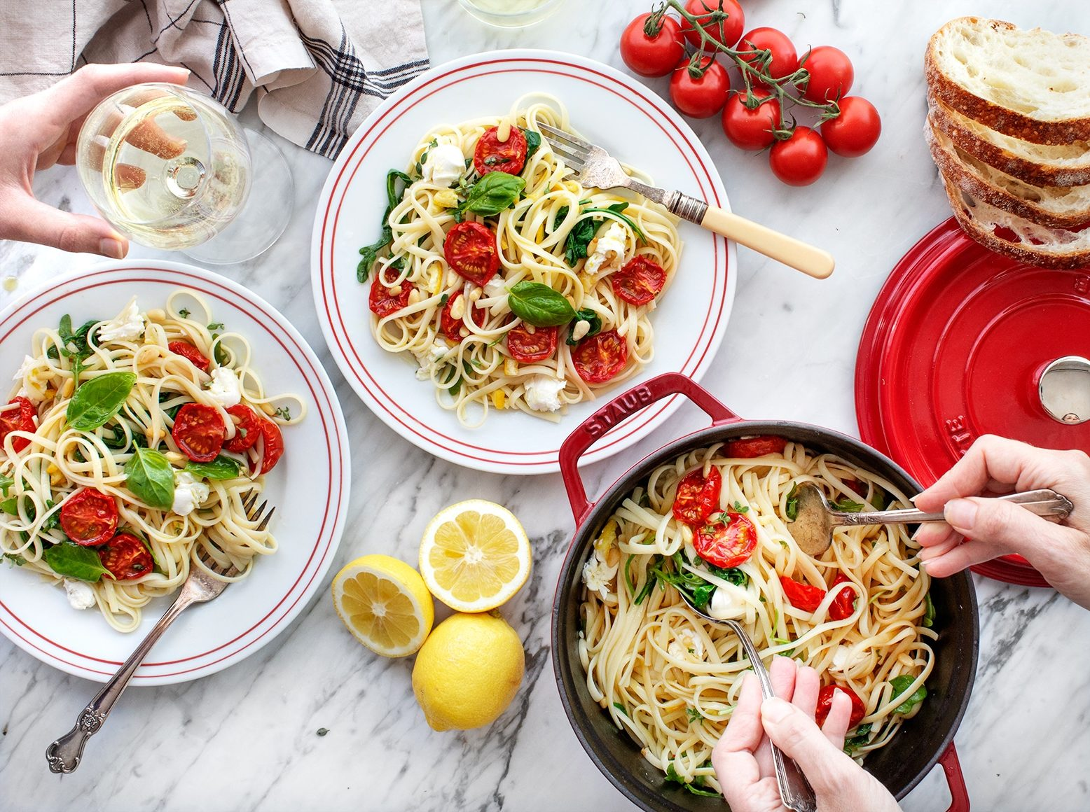 10 Healthy Pasta Recipes For Summer Clean Plates