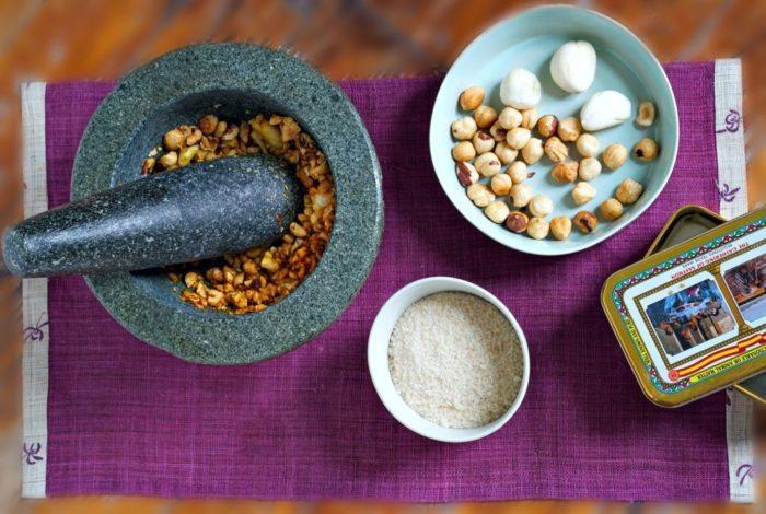 pesto-garlic-hazelnut