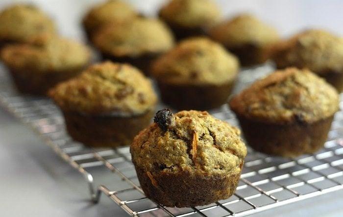 Quinoa & carrot muffin recipe