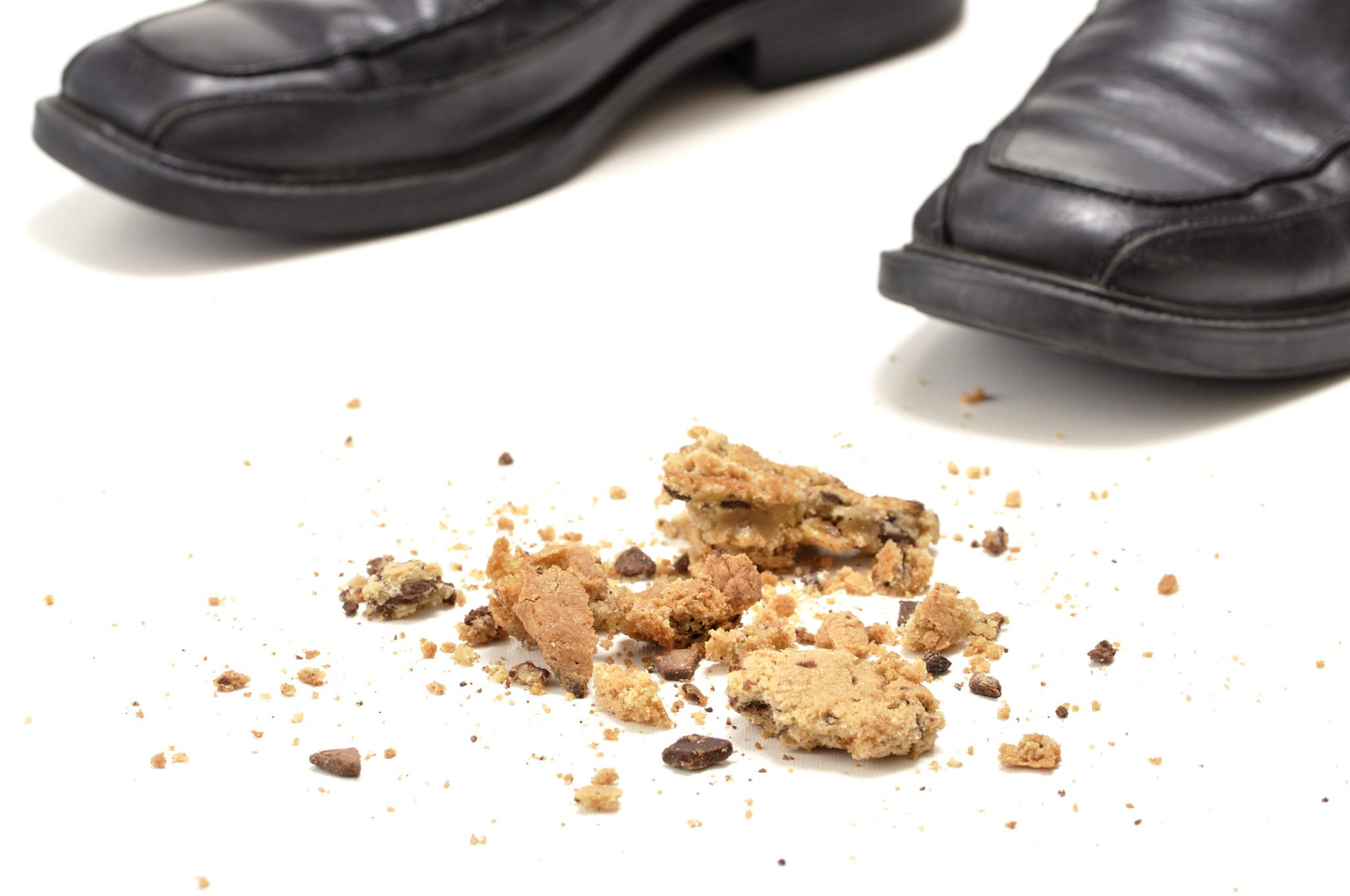 Dropped cookie on the floor