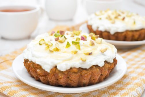 Honey Almond Snack Cake
