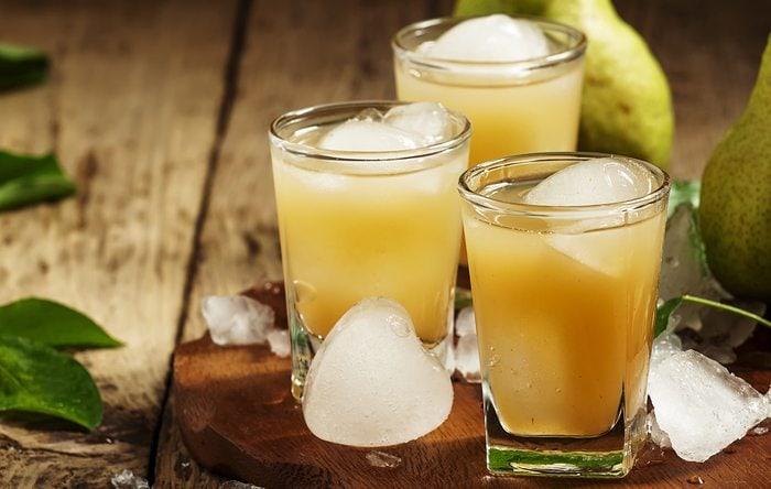 Sage and pear martini