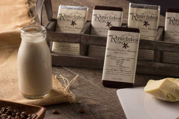 rawclates new healthy products